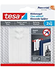 tesa Adhesive Nail for Wallpaper & Plaster 2 kg, wit
