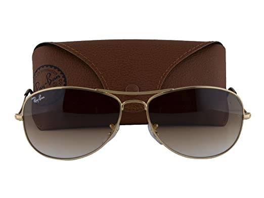 4deba1d4fd Image Unavailable. Image not available for. Color  Ray Ban RB3361 Cockpit  Arista w Crystal Brown Gradient Lens 001 51
