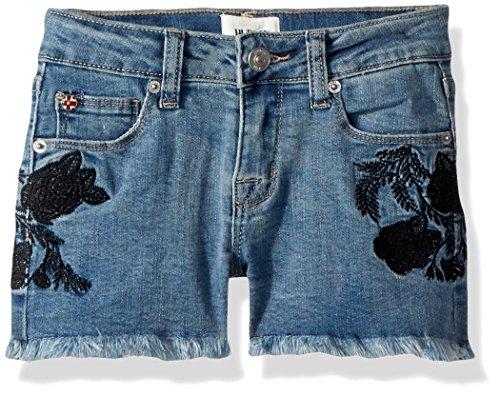HUDSON Girls' Big Fashion Short, Crown Blue, 14