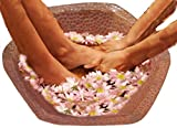 Egypt gift shops Copper Foot Leg Massage Wash Soaker Pedicure Spa Hexagon Bowl Beauty Spa Pedi Styling Beauty Salon Tub