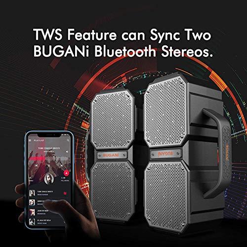 BUGANI Bluetooth Speaker, M83Portable Bluetooth Speakers,Bluetooth 5.0,Waterproof, Wireless Speakers,40W Super Power… 3