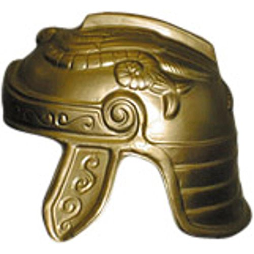 [Jacobson Hat Company Men's Trojan Helmet, Gold, Adult] (Mens Trojan Costume)