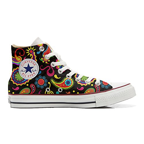 Customized All Zapatos Converse producto Fluo Pasley Star Personalizadas Unisex waSxqYOZ