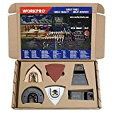WORKPRO 25-piece Oscillating Multitool
