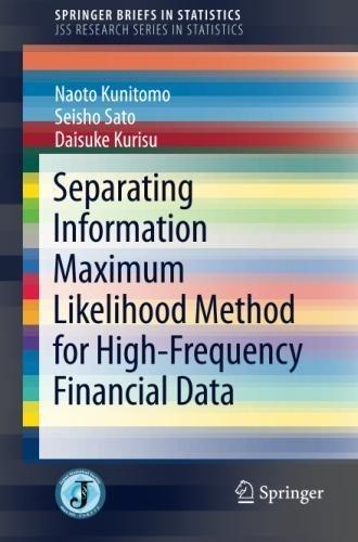 Separating Information Maximum Likelihood Method for High-Frequency Financial Data