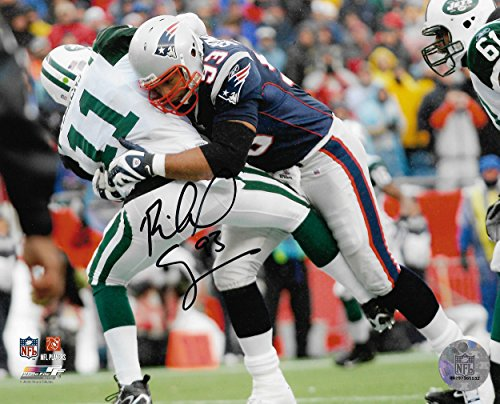 - Richard Seymour New England Patriots Signed Autographed Jets Tackle 8x10 Photo