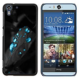 Stuss Case / Funda Carcasa protectora - Carbon eau Aqua - HTC Desire Eye M910x