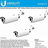 Ubiquiti Aircam H.264 Megapixel Indoor/Outdoor IP Camera 3 Pack image