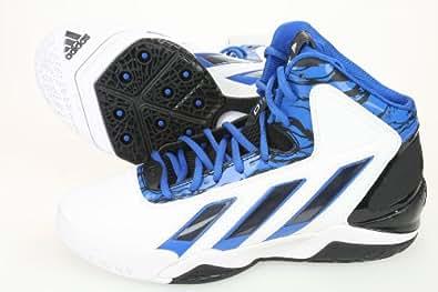 adiPower Howard 3 Men's Basketball Shoe WHT/BLK/BLUE(10)