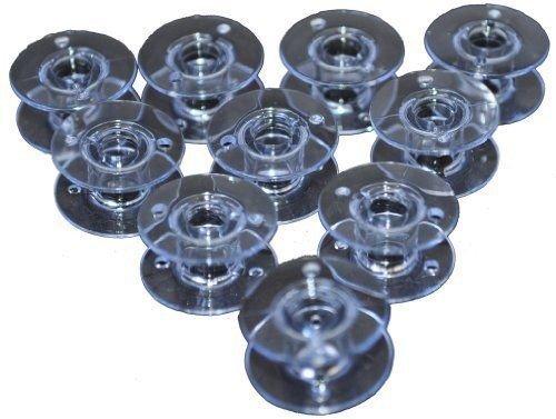 (10 Pack) BOBBINS Plastic Brother CS6000 CS6000I CS80 CS8000 CS8002 XR65