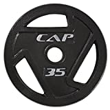 CAP Barbell 2-Inch Olympic Grip Plate, 35-Pounds Review