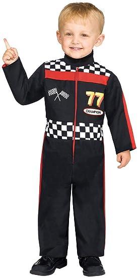 Amazon. Com: boy's race car driver jumpsuit funny theme party.