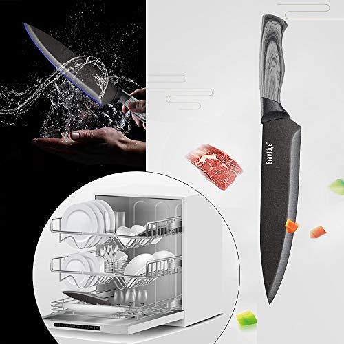 Bravedge Kitchen Knife Sheath Sharp Single Knife for Kitchen 8\