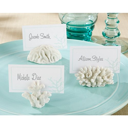 Seven Seas Coral Place Card or Photo Holder (Set of 12) ()