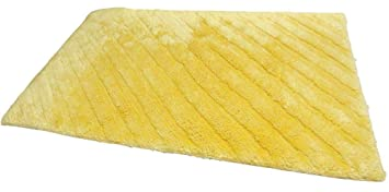 Nicol Badteppich Gitta Gelb 60x100cm Amazon De Kuche Haushalt