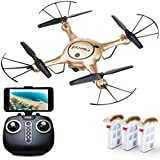"""Force1 RC Drone Kids Adults – """"X5UW"""" WiFi FPV Drone Camera Live Video – Remote Control Camera Drones Beginners, Kids Adults"""