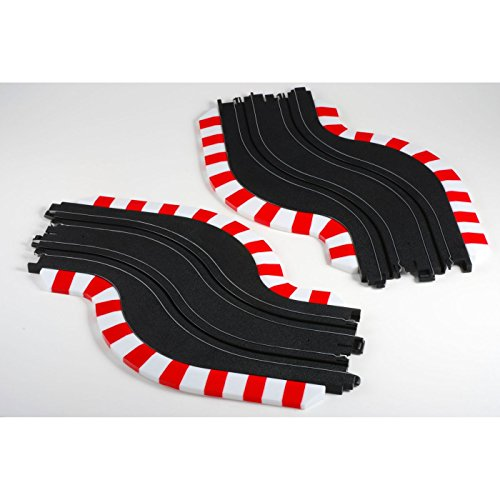 New AFX Slot Track Chicane Set, L&R free shipping