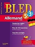 Cahier Bled - Allemand 2e année