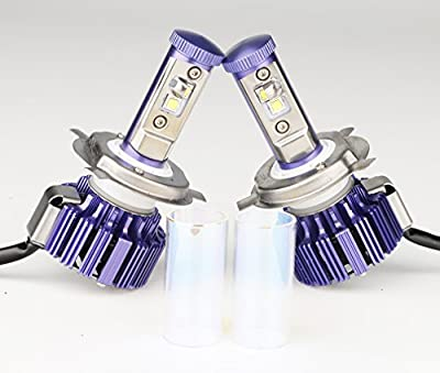 S&D (DIY your Color: White,Amber,Cool White) 80W 8,000Lm H4 9003 HB2 Hi/Lo Beam Cree LED Headlight Bulbs Conversion Kit - Replaces Halogen and HID Bulbs