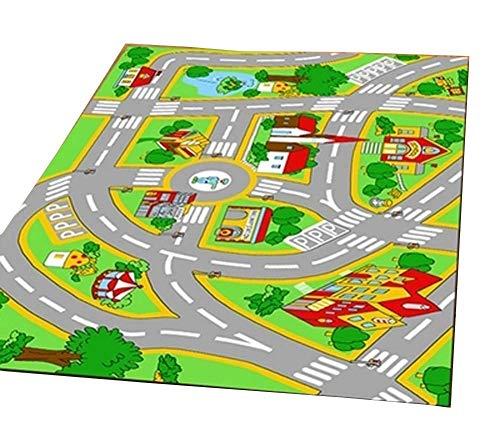 HUAHOO mat Children Carpet Rugs Girl Classrooms Play Area 5'