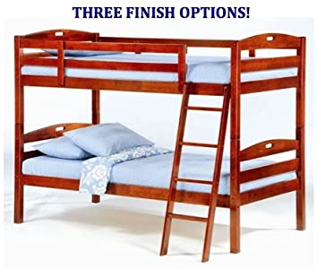 Amazon Night & Day Furniture Sesame Twin Over Twin Bunk Bed