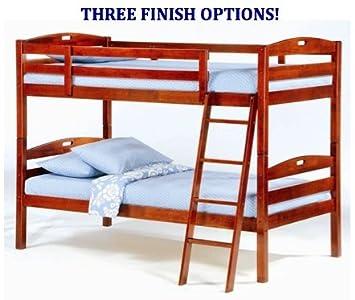 Amazon Night & Day Furniture Sesame Twin Over Twin Bunk Bed