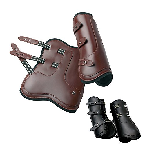 Prestige - leather open front jumping boots