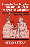 Peru's Indian Peoples and the Challenge of Spanish Conquest : Huamanga to 1640, Stern, Steve J., 0299089045