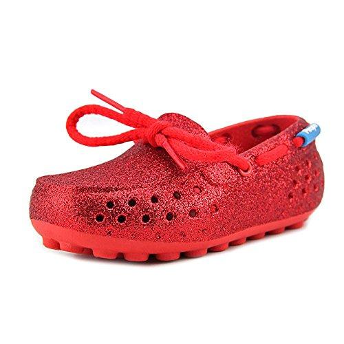 Supreme Sparkle - People Footwear Girl's Senna (Toddler/Little Kid) Supreme Red Sparkles Flat 10 Toddler M