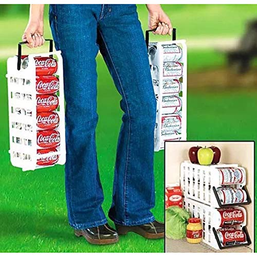 - Store N' Tote Stackable Can Dispenser