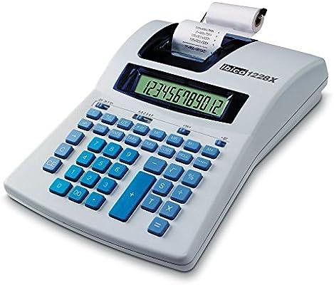 Ibico IB410192 - Calculadora Impresora térmica, 12 dígitos: Amazon ...