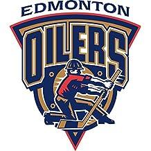 """Edmonton Oilers NHL Hockey Car Bumper Sticker Decal 5"""" x 5"""""""