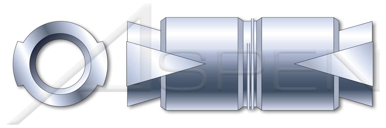 Double Expansion 25 pcs 1//2 Expansion Shield Anchors Zamac Alloy