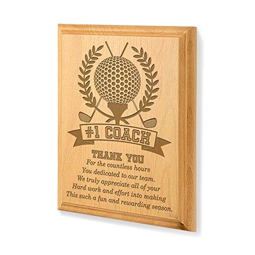 Kate Posh - #1 Golf Coach Plaque and Award (One Golf Plaque Award)
