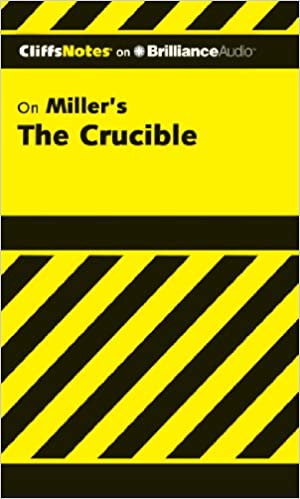 Amazon the crucible cliffs notes series 9781611068184 the crucible cliffs notes series commp3 edition fandeluxe Choice Image