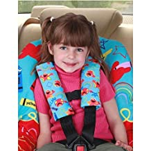 Sesame Street- Elmo Seat Belt Covers