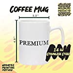 #spaniel - 14oz Hashtag White Ceramic Statesman Coffee Mug 6