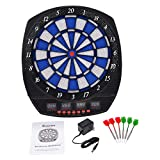 C&W LCD Display Arachnid Electronic Dart Board Set w/6 Darts