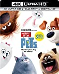 Cover Image for 'Secret Life of Pets, The [4K Ultra HD + Blu-ray + Digital HD]'