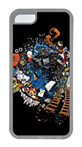 iPhone 5C Case,Welcome To My World TPU Custom iPhone 5C Case Cover Transparent