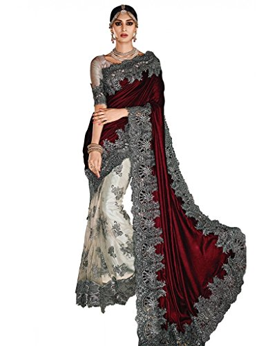 Jay Sarees Heavy Work Wedding Bridal Partywear Saree Jcmnsari3306 (Jay Sarees Wedding)