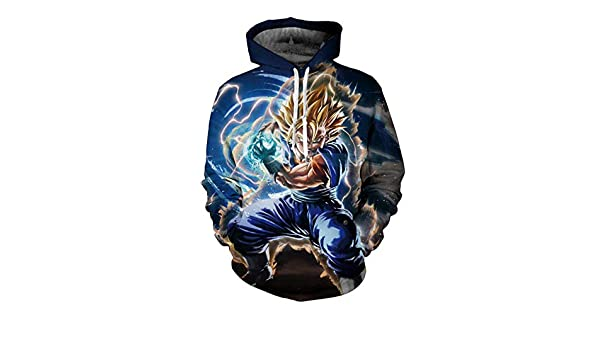 Amazon.com: HOOSHIRT 2019 New Men Dragon Ball Hoodie 3D Hooded Sweatshirts Kids Goku Super egeta Boy Cartoon Pullover Outwear Sudadera Hombre, 5, ...