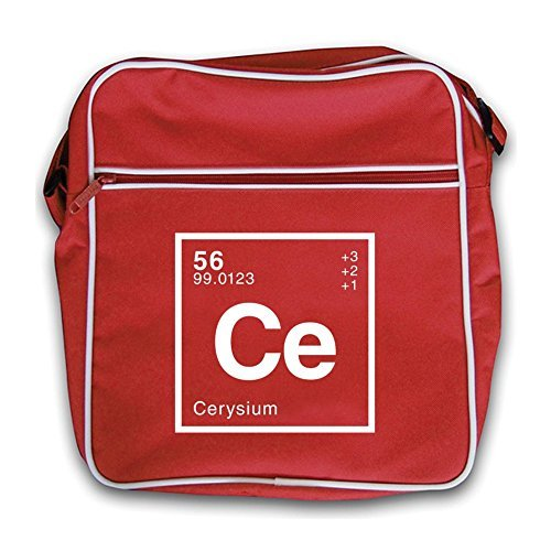 Cerys Retro Periodic Dressdown Bag Flight Red Element dtZd4w