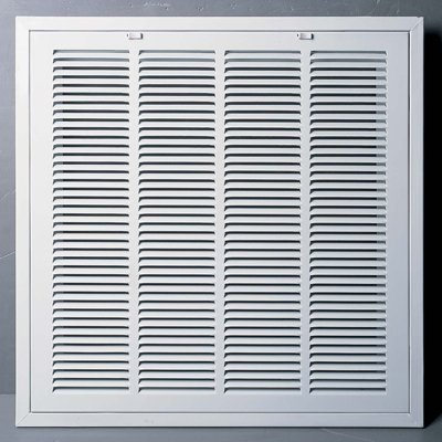 R GRILLE - Easy Air FLow - Flat Stamped Face by Grills & Registers ()