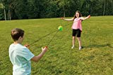 Toysmith Get Outside, GO! Zip Ball Outdoor Tug of