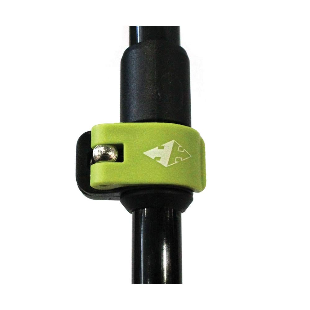 RaidLight B/âtons Avatara Hybrid Poles Black//Lime