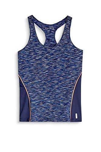 ESPRIT Sports 077ei1k006, Deportes Tank Top para Mujer, Azul (Navy 3 402), 42 (Talla del Fabricante: X-Large)
