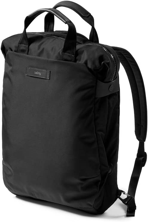 """Bellroy Duo Totepack (Convertible Backpack Tote, Fits 15"""" Laptops) - Black"""