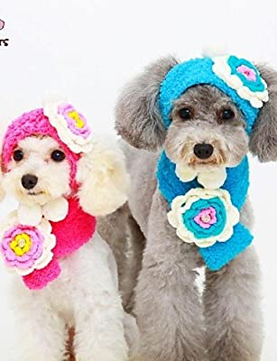 ZPP-Pet Dog Clothes Coat Soft Cotton Clothing Dog Jacket Bandanas & Hats for Dogs / Cats Red / Blue / Yellow Winter Wedding / Cosplay S / M / L Fleece