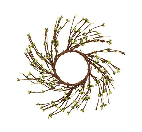 KMJ Mixed Berries & Twigs Table Wreath/Candle Ring, 7
